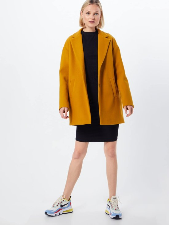 Urban Classics Jurk Ladies Peached Rib Dress Ls Zwart-xs (34) lBtxgcBz