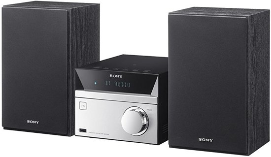 Sony CMT-SBT20B - Microset met DAB+ - Zwart