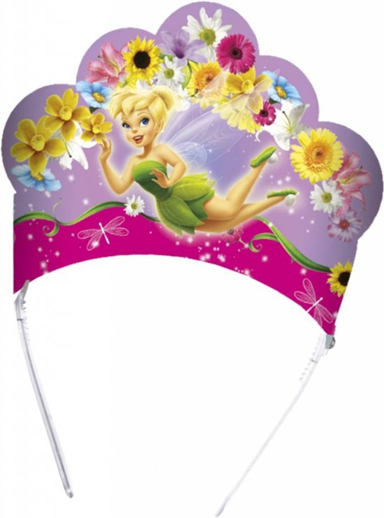 Disney Tinkerbell fairy tiara 6 - stuks