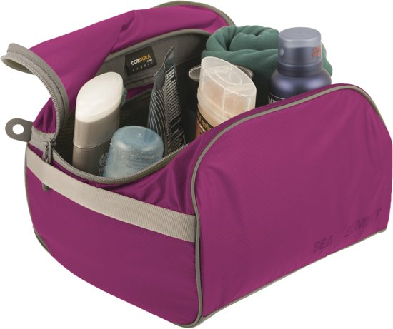 Sea to Summit - Toiletry Cell - Toilettassen - L - Paars/Grijs - 7L