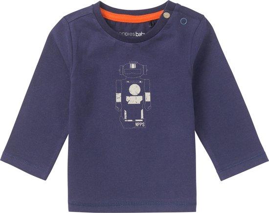Noppies Jongens T-shirt  - blauw  - Maat 50