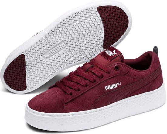 Puma Sneakers 38 Maat Platform Smash DamesCordovanWhite Sd CBderxo