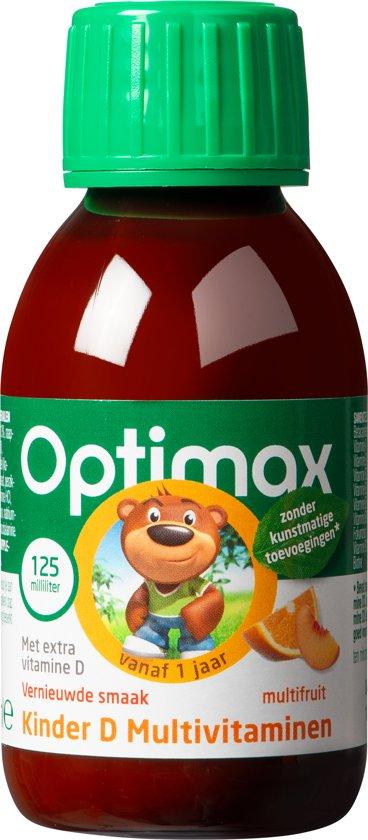 Optimax Kinder D + Multi vloeibaar - 125 ml - Vitaminen