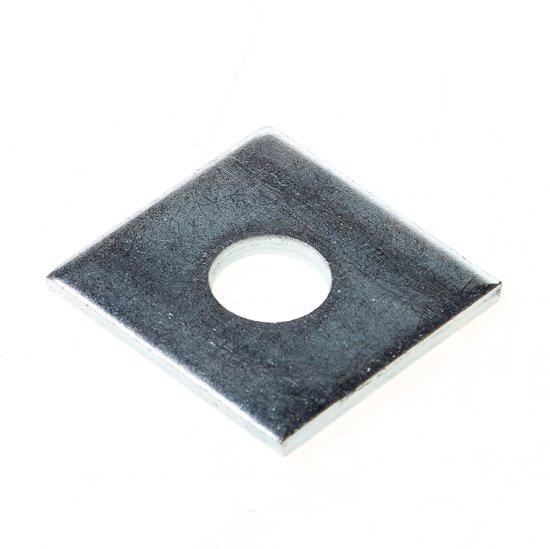 GB Volgplaat thermisch verzinkt m16 100 x 100 x 5mm 84454 (Prijs per 10 stuks)