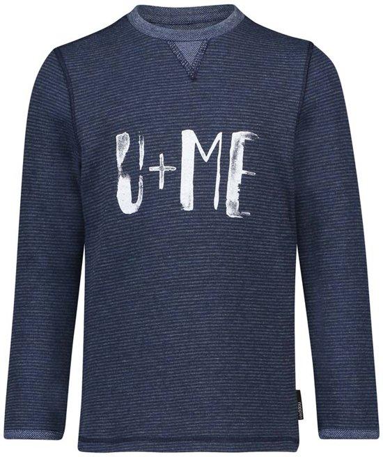 Noppies Jongens T-shirt Vinn  - Blue Denim - Maat 86
