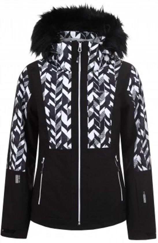 Zwart Witte Winterjas.Bol Com Icepeak Winterjas Nancy Dames Zwart Wit Maat 42