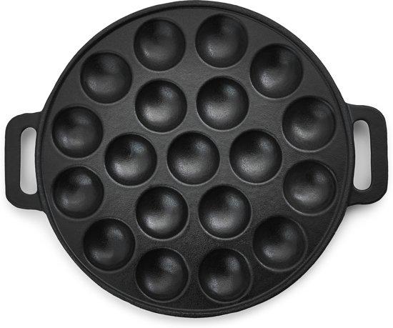 Inno Cuisinno Poffertjespan - Ø 24 cm - Zwart