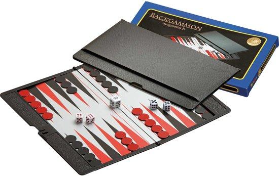 Philos backgammon - reis etui - magnetisch - 170 x 100 x 10mm