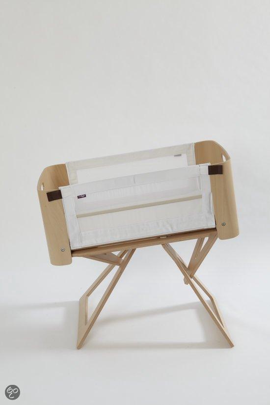 Bednest Wieg - Berkenhout/Katoen/Nylon/Polyester - Wit
