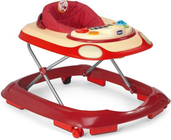 Bol chicco loopstoel band rood
