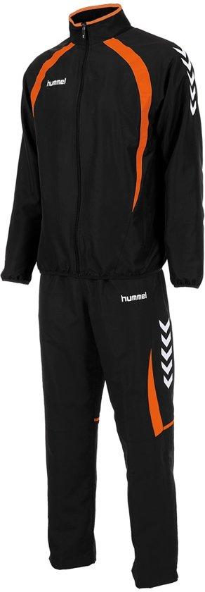 Hummel Team Micro Suit - Trainingspak - Jongens - Maat 164 - Zwart