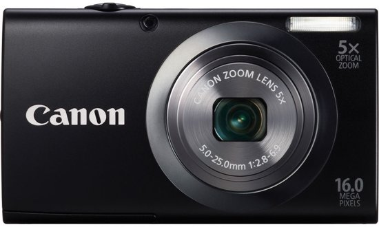 Canon PowerShot A2300 - Zwart
