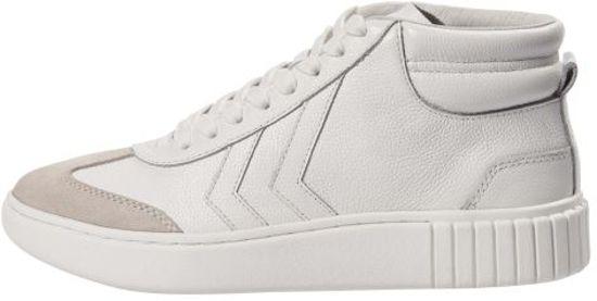Dames Classic Maat Aarhus High Hummel Sneakers White 38 gwFqPR