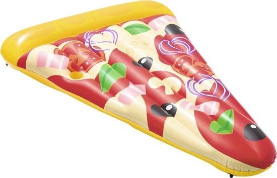 Bestway Opblaasbare Pizza luchtbed 188 x 130 cm - Opblaasfiguur
