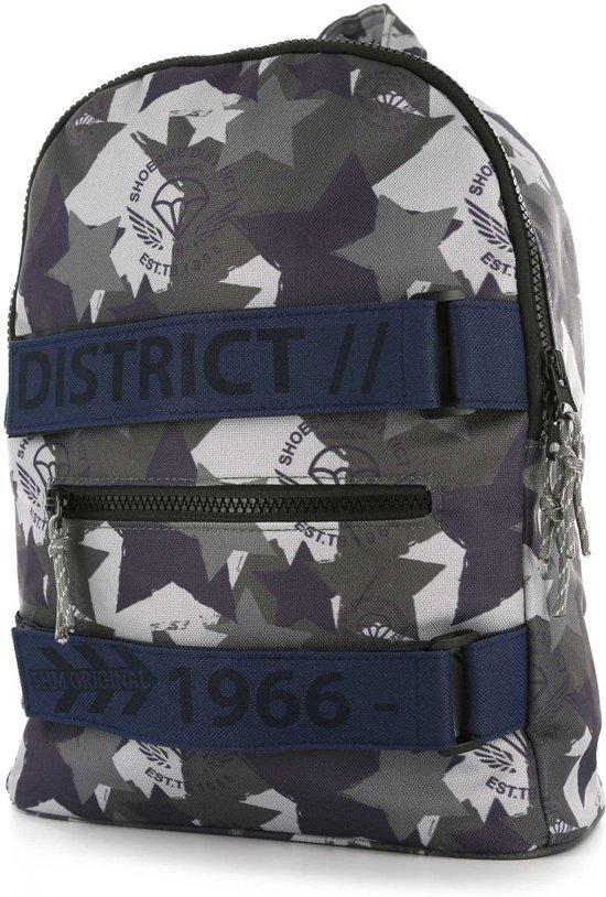 b460044862e bol.com | Shoesme - Kinderrugzak - District Camo - grijs / blauw