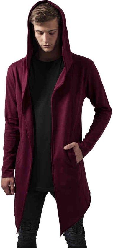 373c60ddf bol.com   Long Hooded Open Edge Cardigan burgundy XXL, urban ...