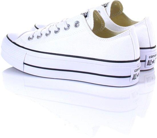 f1d8b2cb3f5 bol.com | Converse Dames Sneakers Chuck Taylor Allstar Lift - Wit - Maat 39