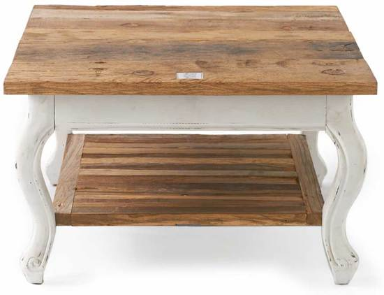 Salon Tafel Wit Hout.Riviera Maison Driftwood Coffee Table Salontafel 70 X 70 Cm Wit Hout