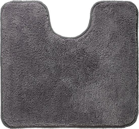 Sealskin Angora - Toiletmat - 55x60 cm - Grijs