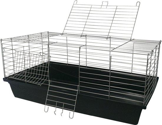 konijnen/caviakooi Skyline 100cm zwart