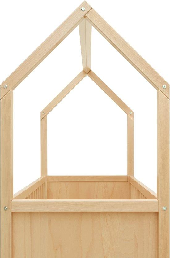 Bopita - Bed 60 x 120 cm - My First House - Naturel