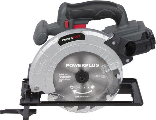 Powerplus One Fits All Cirkelzaag - 165mm - 18V  Li-Ion (zonder accu)