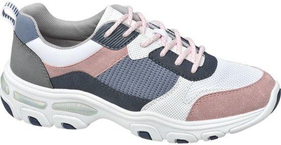 37ce356616e bol.com | Graceland Dames Multi gekleurde chunky sneaker - Maat 36