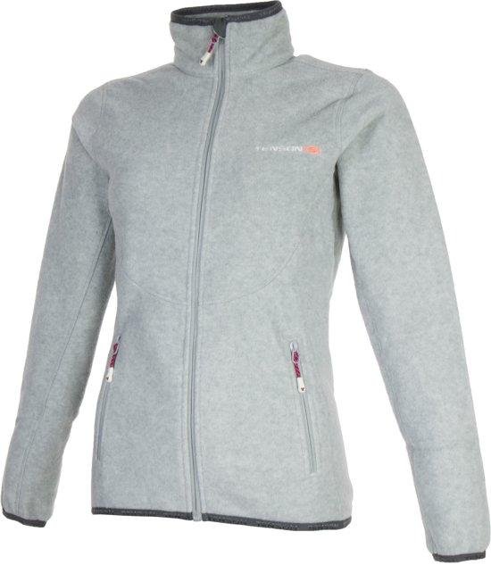 Tenson Malin Fleece Sportjas Maat XL Vrouwen grijs