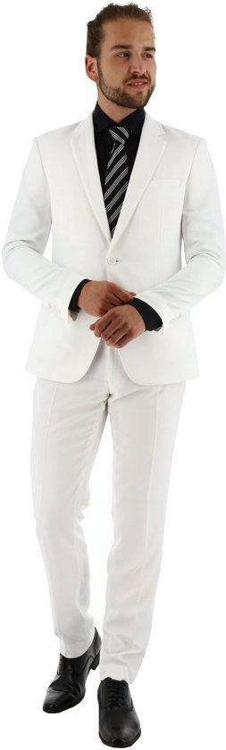kostuum met Teflonbescherming wit, maat 102