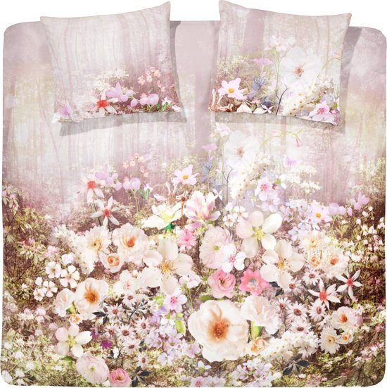 Cinderella Munnar Valley Dekbedovertrek - Lits-jumeaux - 240x200/220 cm - Soft Pink