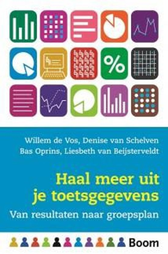Boek cover Haal meer uit je toetsgegevens van Willem de Vos (Paperback)