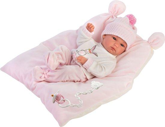 Llorens fullbody babypop Bimba meisje 35 cm met deken en speen