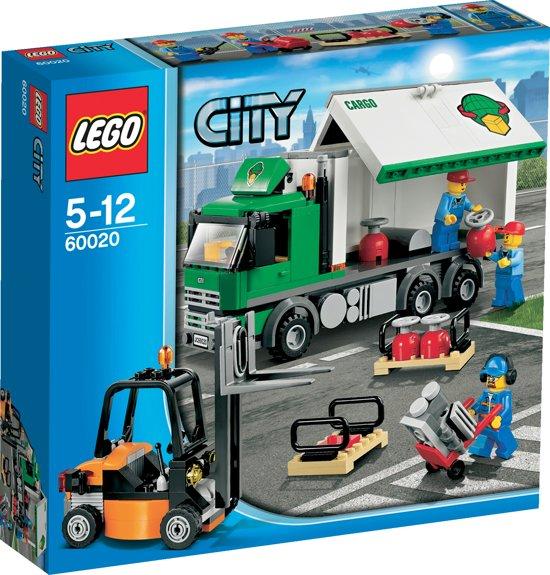 Wonderbaar bol.com | LEGO City Vrachtwagen - 60020, LEGO | Speelgoed AY-52
