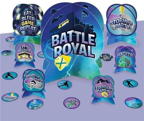 Battle Royal tafeldecoratie set