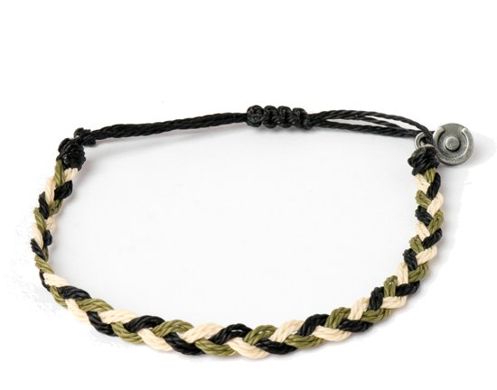 Chibuntu - Army Armband Heren - Flow armbanden collectie - Mannen - Armband (sieraad) - One-size-fits-all