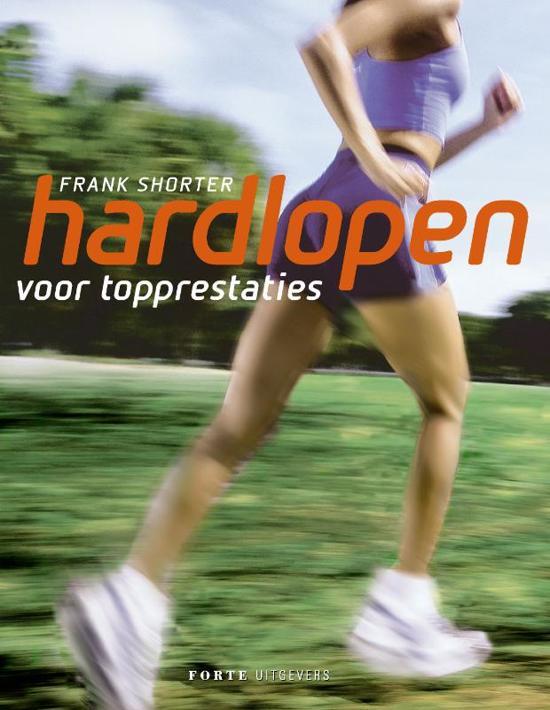 Cover van het boek 'Hardlopen' van F. Shorter