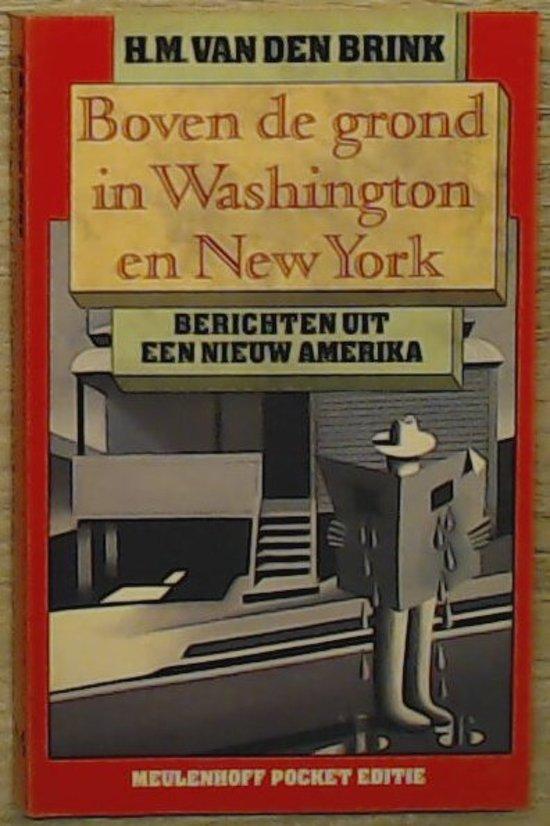 Boven de grond in Washington en new york - Hans Maarten van den Brink pdf epub