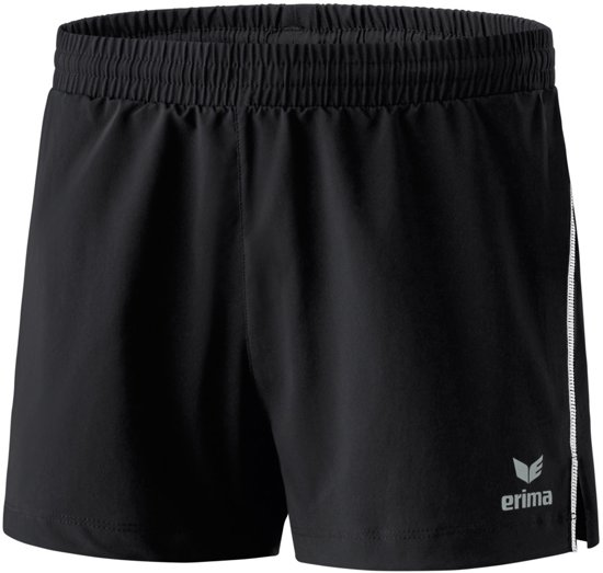 Erima Running Dames Short - Shorts  - zwart - 44