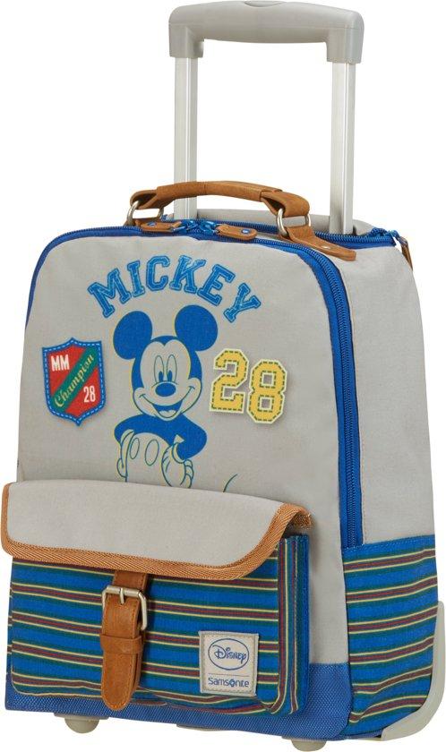 3666f9cbf64 Samsonite Rugzaktrolley - Stylies School Trolley Disney (Handbagage) Mickey  College