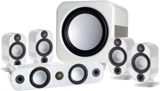 Monitor Audio Apex A10 - Surround Luidspreker - Wit