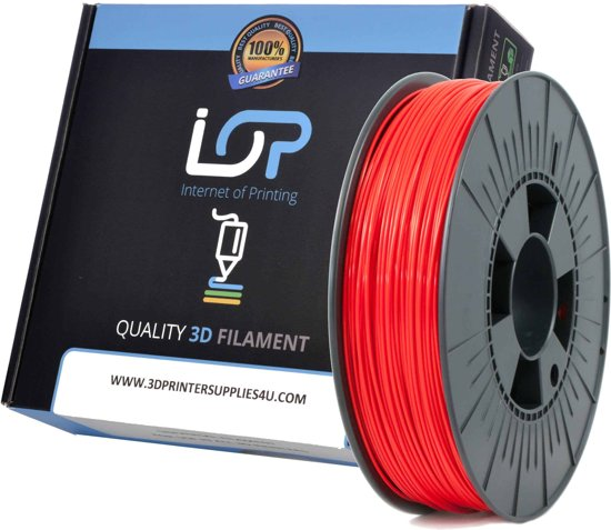 IOP PLA 1,75mm Red 500gr
