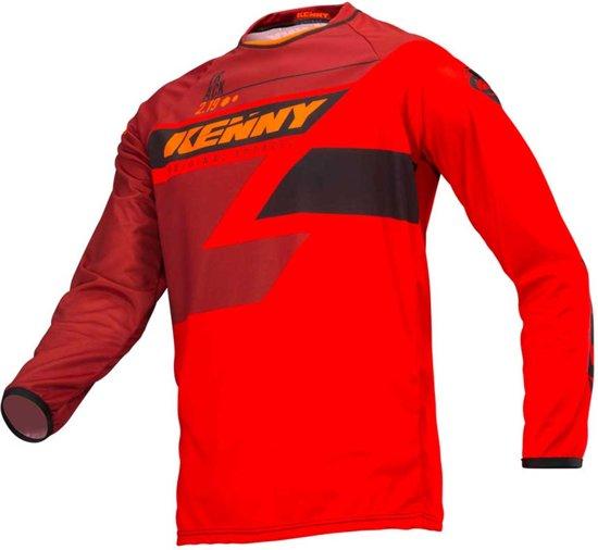 l Full Red Kenny Track Crossshirt kPuOXiZ