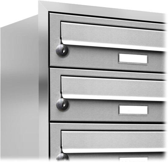 10 - tien - adressen inbouw brievenbus RVS personen