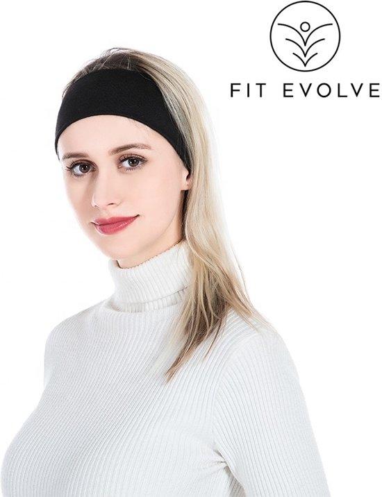 Fit Evolve Haarband - Fleece - Sports Hoofdband - Sports Hoofdband - Zweetband - Sporthaarband - Voetbal - Hardlopen - Fietsen - Fashion - Unisex -OneSize