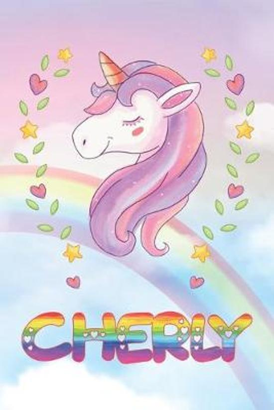 Cherly: Cherly Unicorn Notebook Rainbow Journal 6x9 Personalized Customized Gift For Someones Surname Or First Name is Cherly