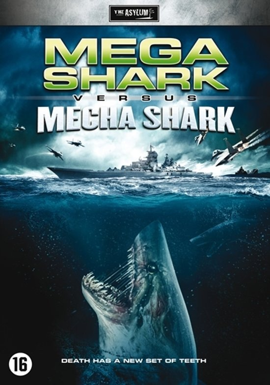 Mega Shark Vs Mecha Shark Poster | LINEPC