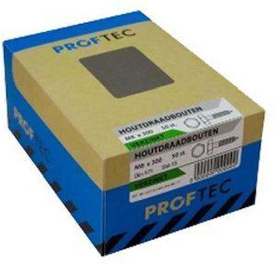 Proftec-Tap Bout DIN933 8.8 verzinkt M8X40mm  20 stuks