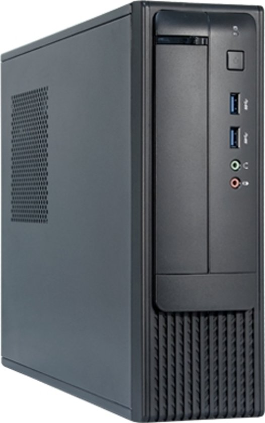 Chieftec FN-03B Mini-Toren 350W Zwart, Zilver computerbehuizing