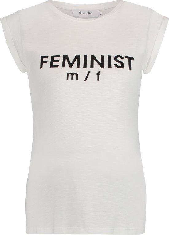Queen Mum Shirt - Off White - Maat L