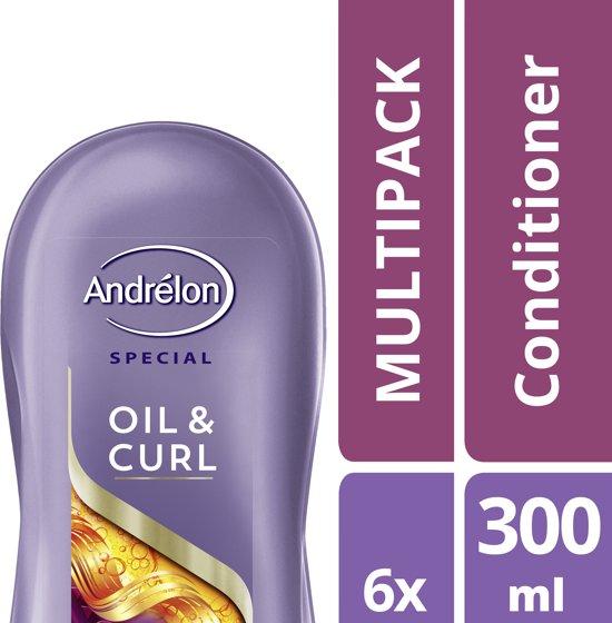 Andrelon Oil & Curl- 6 stuks- Conditioner - voordeelverpakking